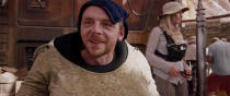 """<p>Simon Pegg is nothing if not loyal to J.J. Abrams: Having already denied that Benedict Cumberbatch was playing Khan in <i>Star Trek Into Darkness</i>, he <a href=""""https://twitter.com/simonpegg/status/306480440921964544"""" rel=""""nofollow noopener"""" target=""""_blank"""" data-ylk=""""slk:called rumors"""" class=""""link rapid-noclick-resp"""">called rumors</a> he was in <i>The Force Awakens </i>""""absolute Bantha poodoo."""" Turns out Pegg was fibbing: He's buried under costume in <i>The Force Awakens</i> as a Jakku scrap merchant. (Photo: Screenshot via You Tube)</p>"""