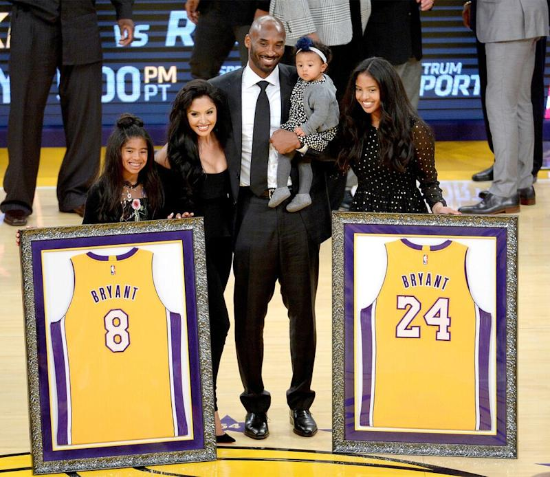 Kobe Bryant and family | Maxx Wolfson/Getty