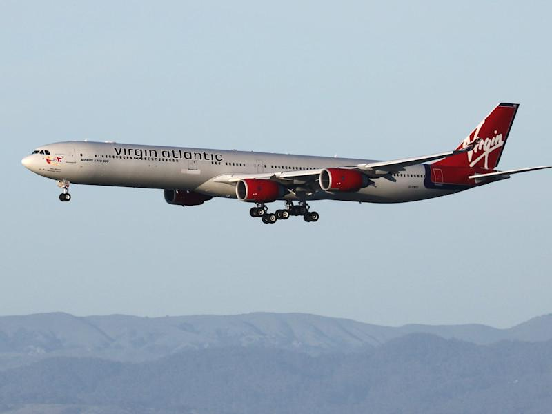 Virgin Atlantic Airbus A340 600