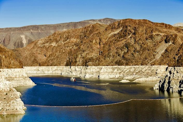 The Los Angeles Department of Water and Power is working on a pumped storage project at Lake Mead outside Las Vegas.