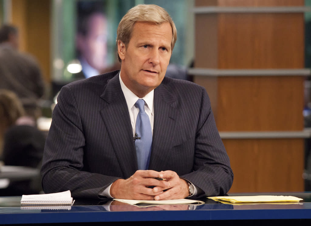 "<p><b>The Newsroom</b> (Sunday, 6/24 on HBO)<br><br> A new drama from Aaron Sorkin? On HBO? About a behind-the-scenes look at a cable news channel? Our little ""Sports Night"" and ""West Wing""-loving (and loving-to-hate) ears just perked up. Jeff Daniels is the anchor on the news show, and Emily Mortimer, Alison Pill, Dev Patel, Olivia Munn, and Sam Waterson round out the strong ensemble. </p>"