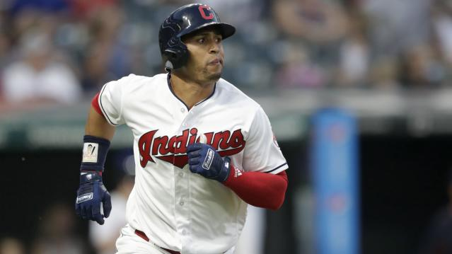 Cleveland Indians outfielder Leonys Martin will not be cleared to resume baseball training this season after surviving a life-threatening bacterial infection. (AP)