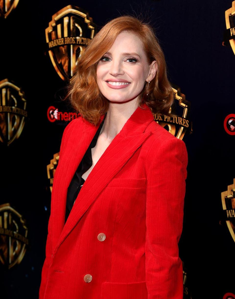 """<p>""""With the state of the world, people need a little color in their life,"""" says professional colorist Kristine Choate. As a result, one of the season's biggest trends is fiery red a la Jessica Chastain—it's much easier to pull off than some of the bolder gemstone shades. </p>"""