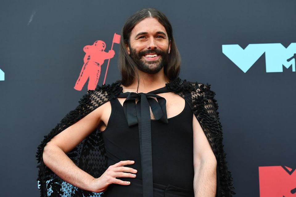 Twitter users can't get enough of Jonathan Van Ness' latest outfit  [Photo: Getty]