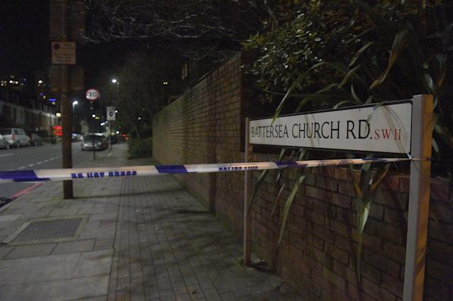 Officers were called to Battersea Church Road at about 9pm on Christmas Eve to reports of shots being fired (Getty)