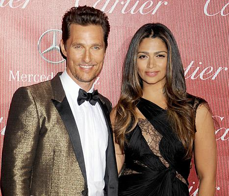 """Matthew McConaughey Thanks Wife Camila Alves, Kids: """"I Know I Wasn't That Easy to Live With"""" During Dallas Buyers Club Filming"""
