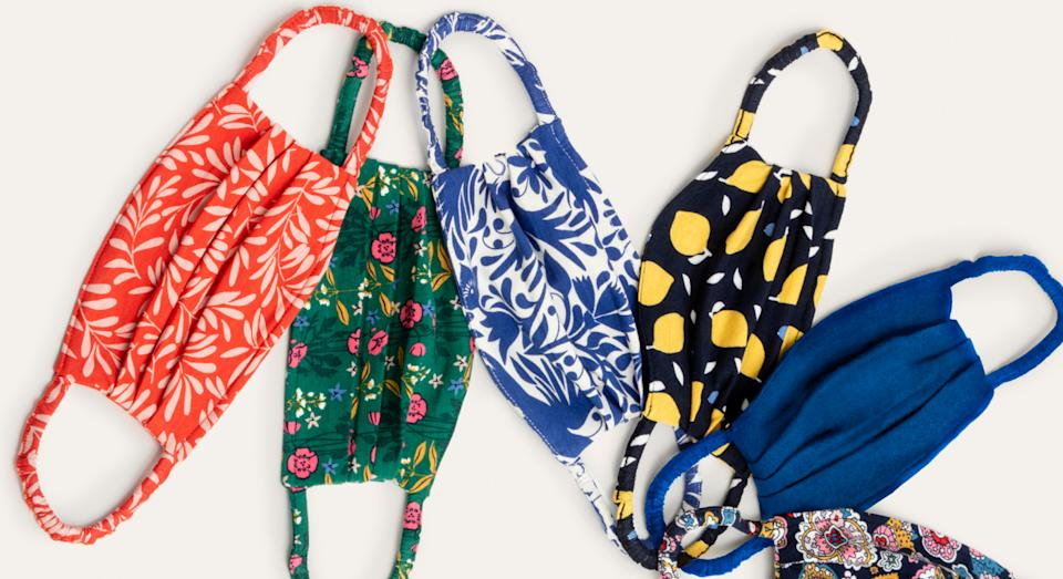 The British high street store has added several new designs to its face mask collection. (Boden)
