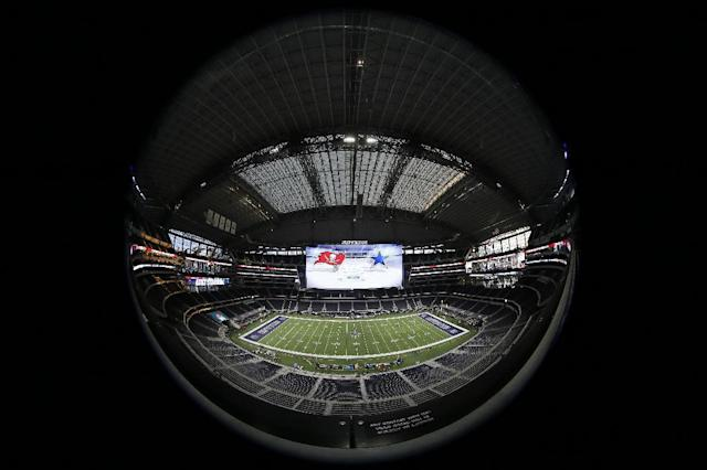 AT&T Stadium will be the site of the 2018 NFL draft. (AP)