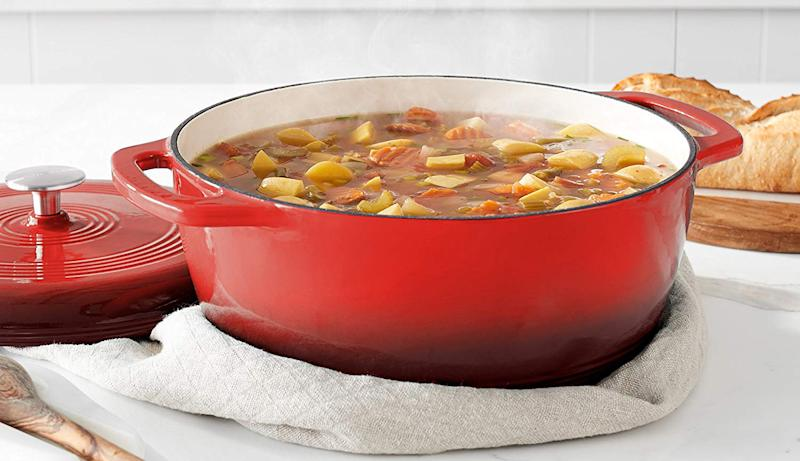 A Dutch oven will overhaul mealtime forever. (Photo: Amazon)