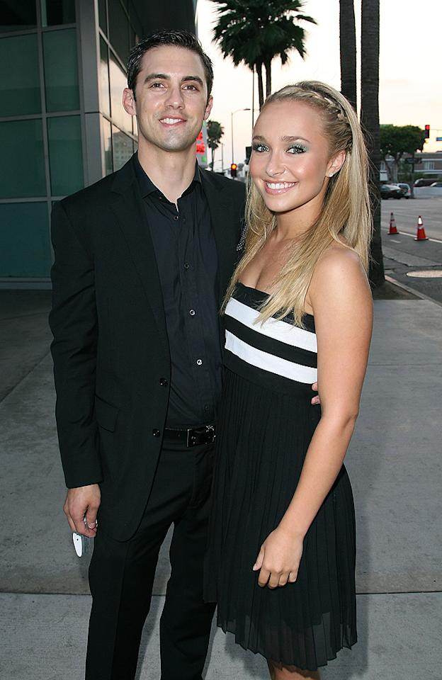 """Hayden Panettiere found herself in a similar situation to Lindsay Lohan back in 2007. Just 17, she had grown close to her 29-year-old """"Heroes"""" co-star Milo Ventimiglia, who played her uncle on the sci-fi TV series. After repeatedly denying they were involved, they were spotted holding hands in a Los Angeles mall a few months after her 18th birthday. """"When you're in the public eye, you try to keep whatever you can private,"""" he later told <em>Details</em>. Their romance fizzed in 2009."""