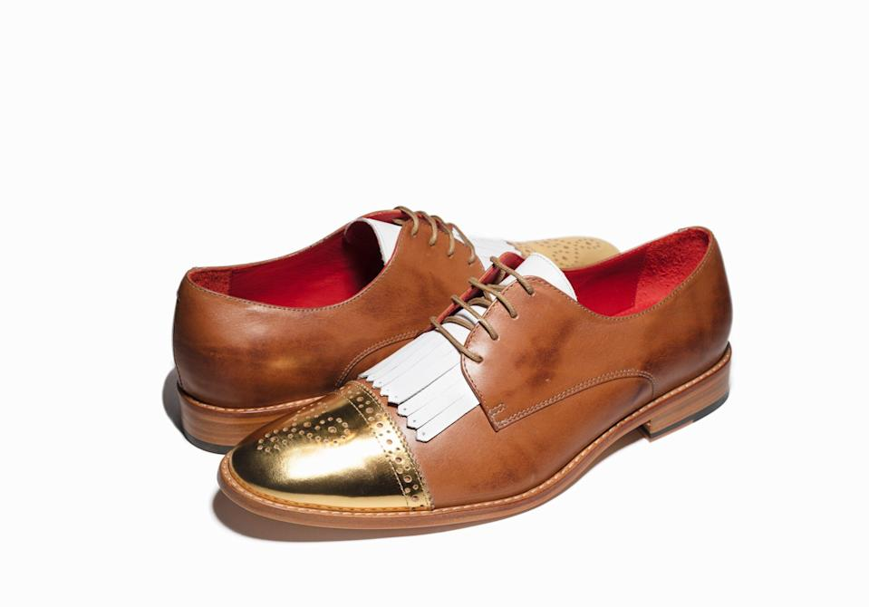 """<p>lflsshoes.com</p><p><strong>$499.22</strong></p><p><a href=""""https://www.lflsshoes.com/oxfords/beck-brown"""" rel=""""nofollow noopener"""" target=""""_blank"""" data-ylk=""""slk:Shop Now"""" class=""""link rapid-noclick-resp"""">Shop Now</a></p><p>Give your partner a pair of shoes they'll never, ever forget by shopping at LFLS shoes. For someone who is constantly collecting new, interesting pairs of shoes, these Oxfords will be a beautiful surprise that they'll keep for decades to come.</p>"""