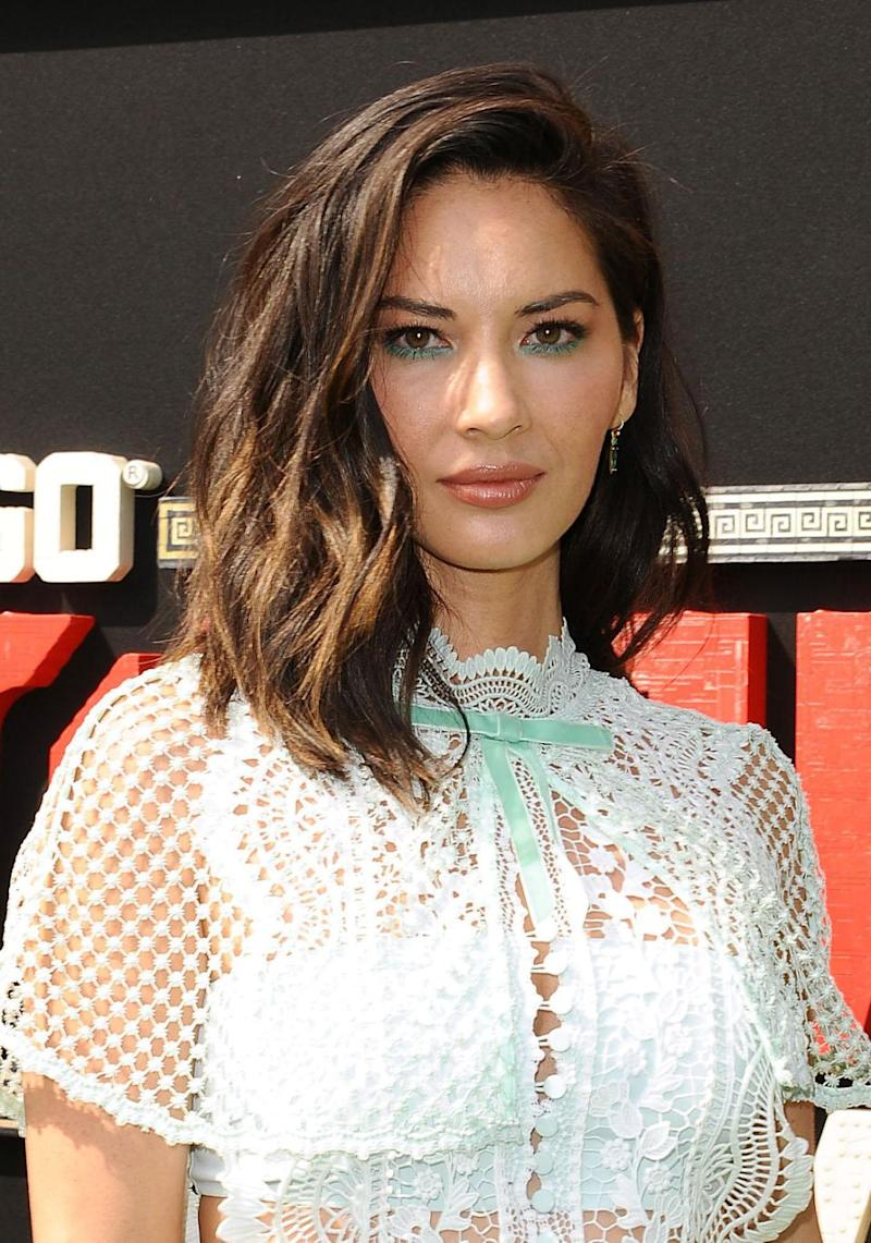 Olivia Munn (here in September 2017) has also come forward with her own account of sexual misconduct from Ratner. Source: Getty