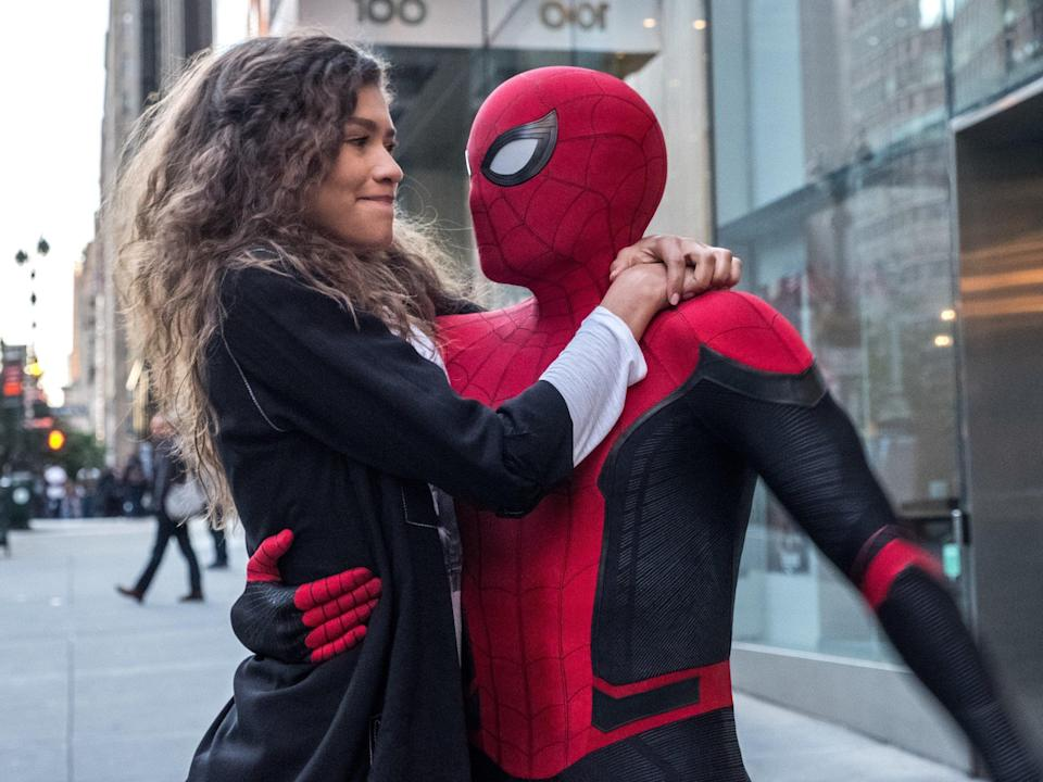 mj spider man far from home