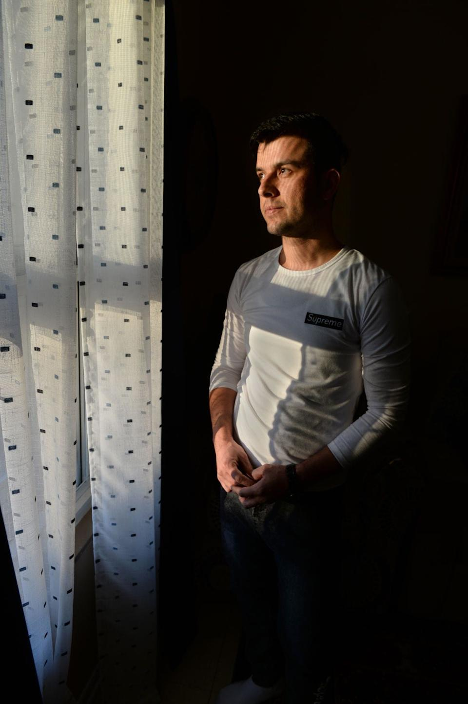 Najib Ahmad Bakhtari, a refugee from Afghanistan, found safety in the West Virginia hills after leaving the unrest in his home country last year. He is one of three refugees the state accepted in 2019.