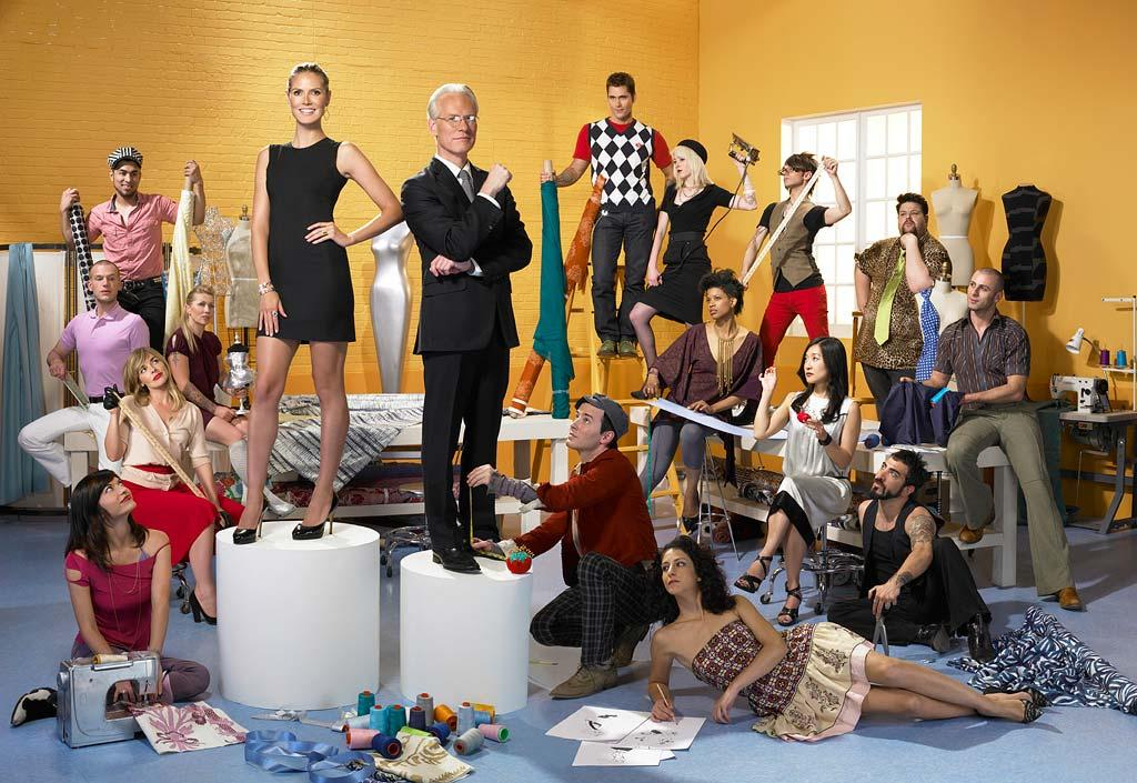 """<a href=""""/project-runway/show/36319"""">Project Runway</a>, airing on Bravo."""