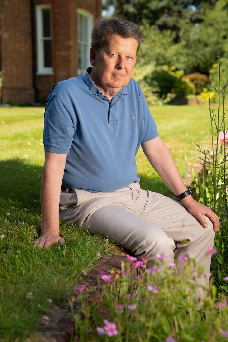 Bill Turnbull tried cannabis for his new documentary. (Channel 4/Pete Dadds).