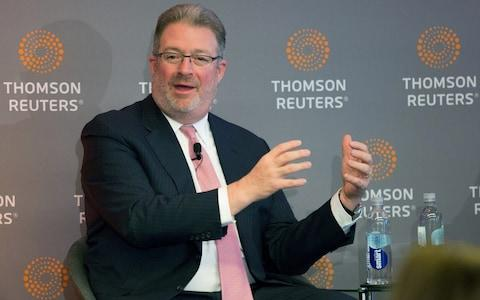Thomson Reuters Chief Executive Jim Smith - Credit: Chris Helgren/REUTERS