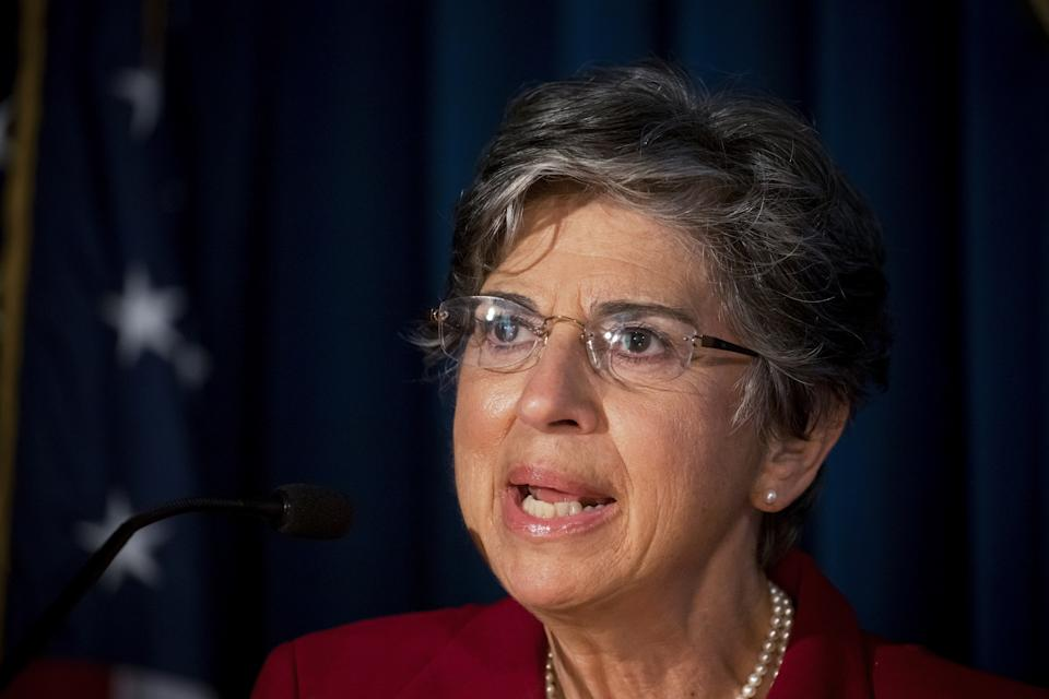 Audrey Strauss, acting U.S. Attorney for the Southern District of New York. (Michael Nagle/Bloomberg via Getty Images)