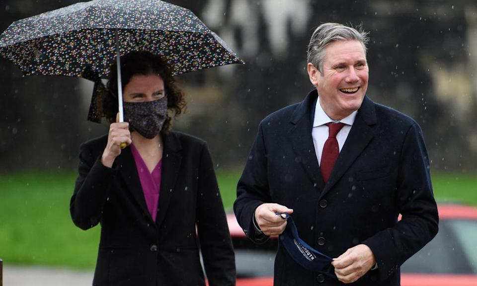 Keir Starmer and Anneliese Dodds.
