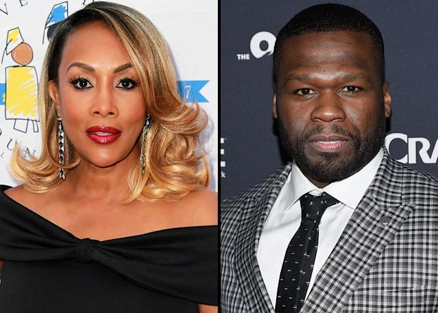 Vivica A. Fox and 50 Cent dated for a short time, between two months and a year, in 2003. For the last 15 years, they've been publicly fighting over the brief relationship. (Photo: Michael Tullberg/Getty Images)