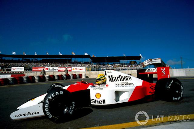 "Interlagos: 2 vitórias: 1991 e 1993 <span class=""copyright"">Sutton Motorsport Images</span>"