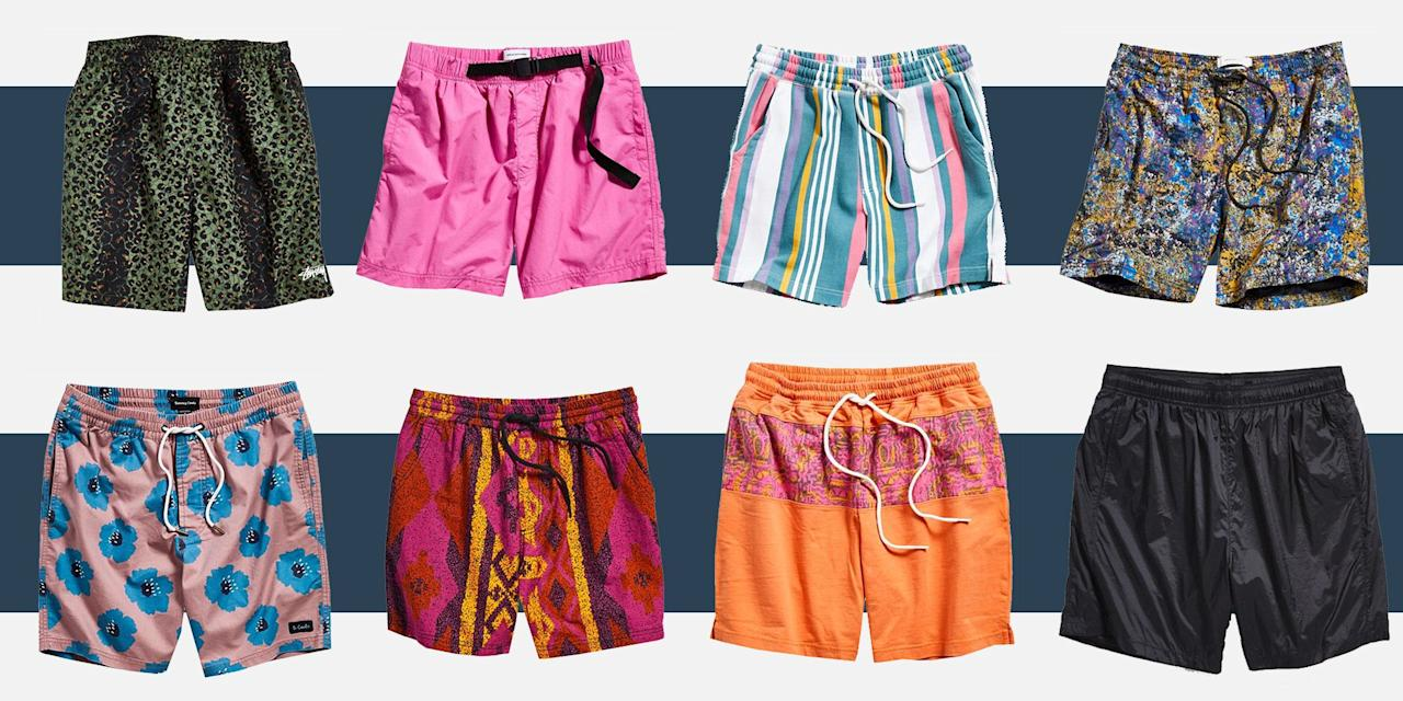 <p>Bathing suits often get all the attention when it comes to fun prints or bright colors. But why should they? You don't have to wait until you're on the beach to try out a bold pair of shorts. So take the beach mentality to your shorts buying this summer. To make it easier, Urban Outfitters put a bunch of its very good (and very loud!) shorts on sale today. There are bright pinks, printed oranges, and even a green leopard print, because truly, why not? They're perfect for stocking up before heading out of town to somewhere water-adjacent for the Fourth. The shorts are all at least 30 percent off, and the sale ends tonight. Here are 14 of our favorites from the bunch. </p>