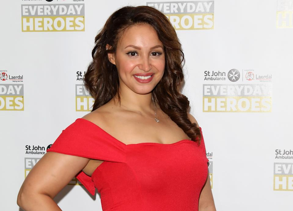 Amelle Berrabah blamed her accountant for her bankruptcy. (Getty Images)