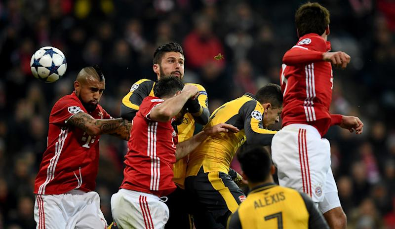Arsenal F.C., F.C. Bayern Munich, UEFA Champions League, Arsene Wenger, live stream,