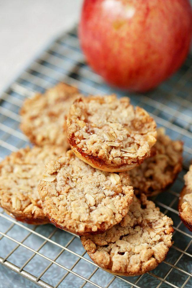 """<p>Transform the classic casserole-style dish into a grab-and-go treat you'll be snacking on all season.</p><p><strong>Get the recipe at <a rel=""""nofollow noopener"""" href=""""https://www.amomstake.com/apple-cobbler-cookies/"""" target=""""_blank"""" data-ylk=""""slk:A Mom's Take"""" class=""""link rapid-noclick-resp"""">A Mom's Take</a>.</strong></p><p><strong><a rel=""""nofollow noopener"""" href=""""https://www.amazon.com/Bellemain-Cooling-Baking-Rack-Tight-Grid/dp/B00OY91N90"""" target=""""_blank"""" data-ylk=""""slk:SHOP COOLING RACKS"""" class=""""link rapid-noclick-resp"""">SHOP COOLING RACKS</a><br></strong></p>"""