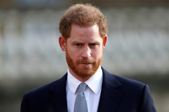 Britain's Prince Harry has said the sound of clicking camera shutters is a constant reminder of his late mother Diana, who was killed in a 1997 car crash as her vehicle was pursued by paparazzi (AFP Photo/Adrian DENNIS)