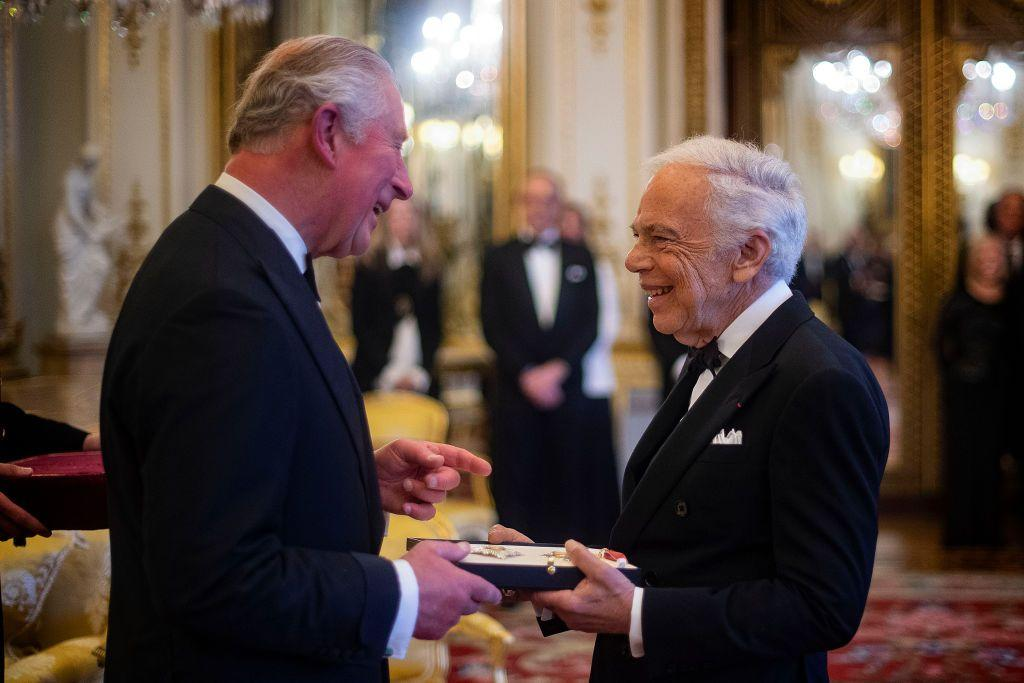 <p>In June 2019, Ralph Lauren became the first-ever American fashion designer to receive an honorary knighthood. Prince Charles presented Lauren with his KBE (Knight Commander of the Order of the British Empire) in a private ceremony.</p>