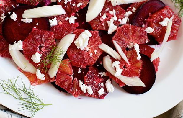 Nordic Diet Blood Orange, Beet, Fennel Salad