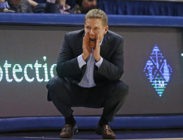 It's safe to say Mark Few and Gonzaga are going to be rolling into March on the right note. (AP)
