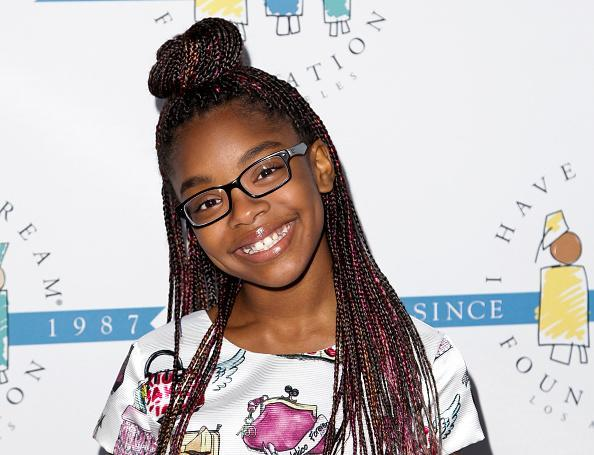 Marsai Martin is known as one-half of the show's adorable twin duo Jack and Diane Johnson. (Photo: Getty)