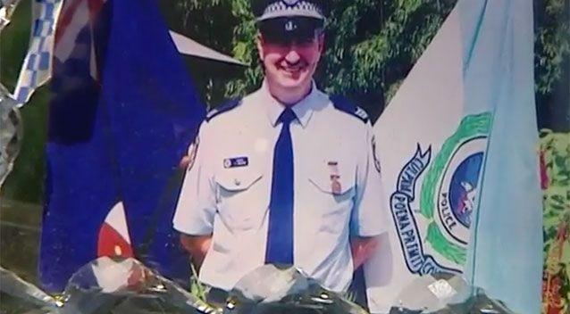 Police sergeant Tom Galvin took his own life in 2013. Source: 7 News