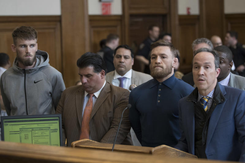 Conor McGregor had his day (90 seconds) in court