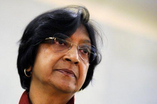 UN Commissioner for Human Rights Navi Pillay, pictured in February. Sudanese air strikes on foe South Sudan could amount to international crimes, Pillay has warned