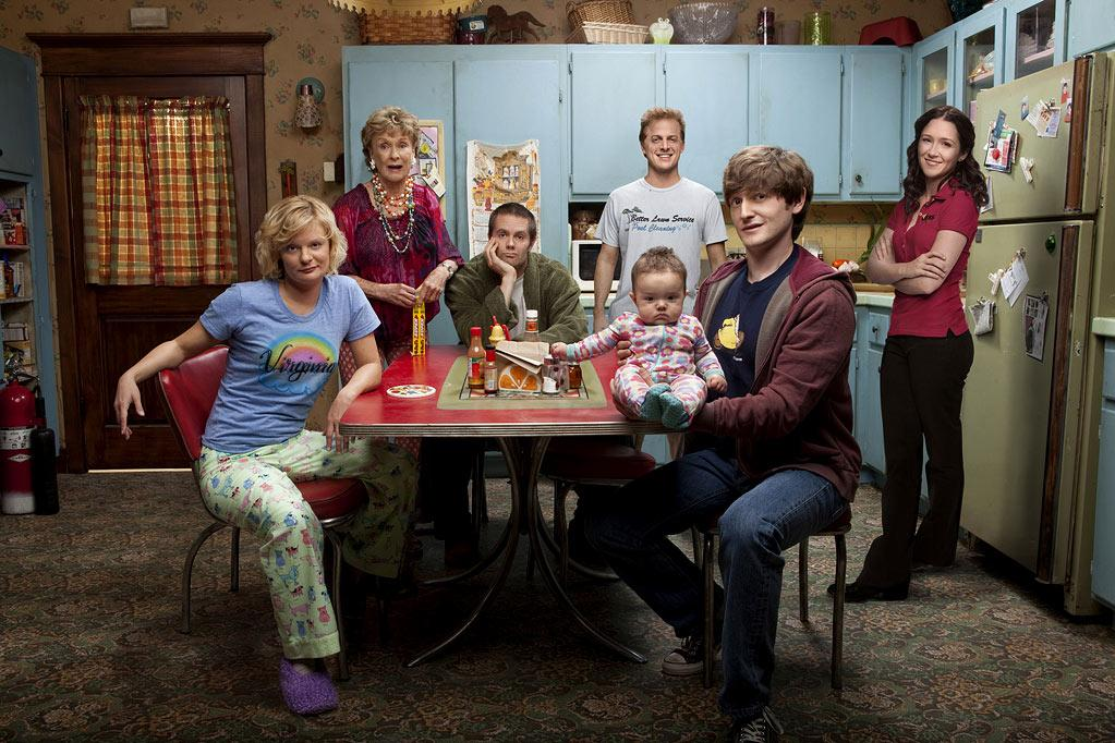 "Jimmy Chance (Lucas Neff) is a well-meaning screw-up trying his best to raise his infant daughter with the help of the eccentric family who did a less-than-stellar job raising him in ""<a href=""/raising-hope/show/46510"">Raising Hope</a>,"" premiering Wednesdays this fall at 8pm ET on Fox."
