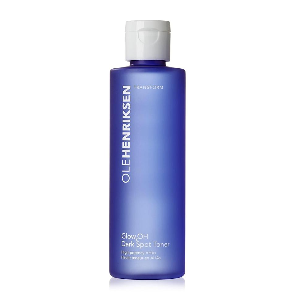 <p>Making dark spots disappear feels like an uphill battle, but the <span>Ole Henriksen Glow2OH Dark Spot Toner</span> ($29) makes them a nonissue. Even though this toner is supercharged with lactic and glycolic acids, it's compatible with all skin types, including people with dryer skin.</p>