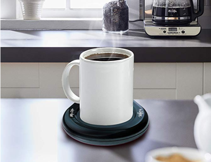 This mug warmer perfectly cradles your cup (Photo: Amazon)