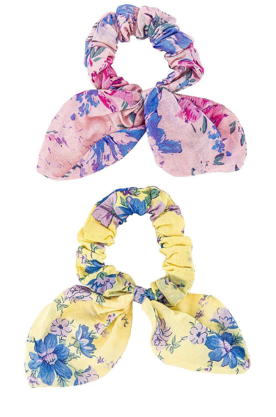 <p>The patterns on these <span>LoveShackFancy Barefoot In The Sand Scrunchies</span> ($55 for 2) are so fun.</p>
