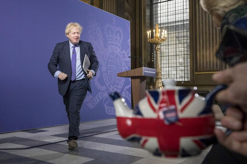 U.K. Labour Party Faces Long Recovery To Catch Up With Johnson