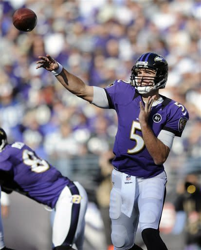 Ravens set points record in 55-20 rout of Raiders