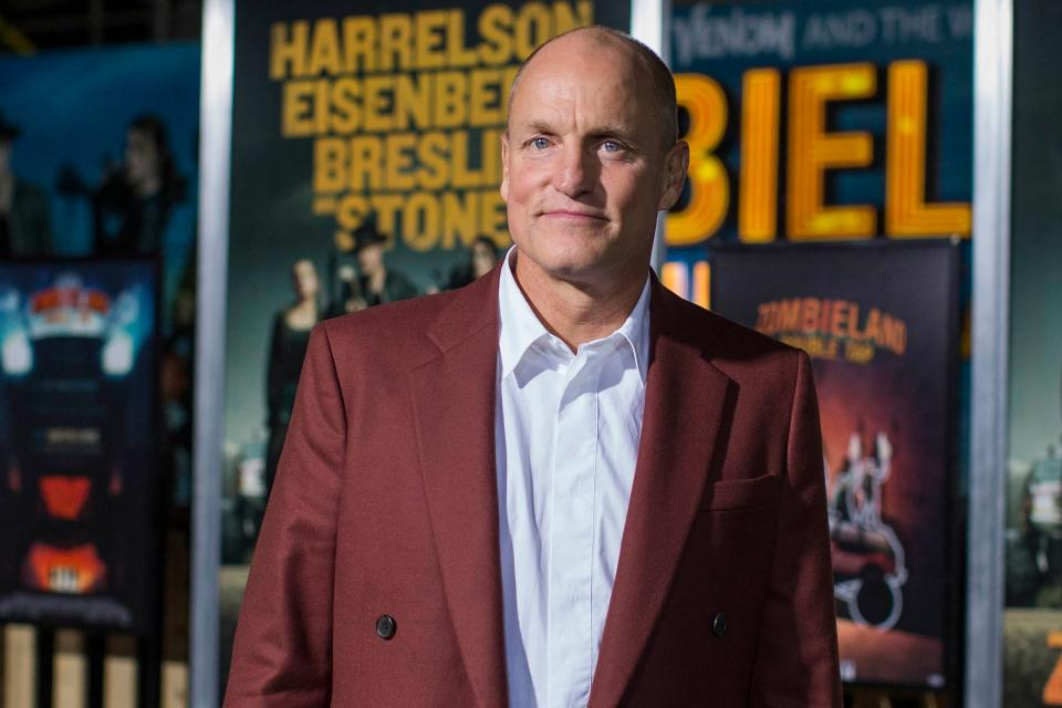 US actor Woody Harrelson arrives for the world premiere of