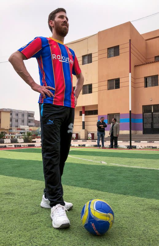 Messi doppelganger in Egypt becomes local celebrity