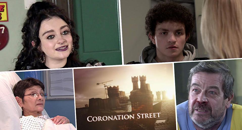 It's a busy week ahead on the cobbles. (ITV)