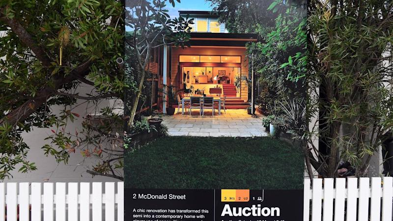 Home values steady but auctions lift