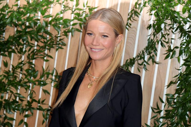 Gwyneth Paltrow has announced the name of hew new candle, pictured in November 2019 in Hollywood. (Getty Images)