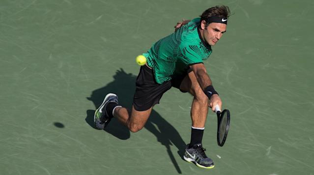 Roger Federer and Nick Kyrgios face off on Friday night at the Miami Open in a semifinal match.