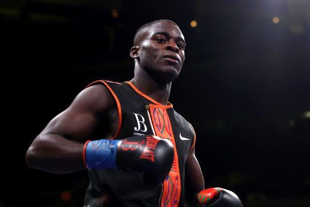Joshua Buatsi is set to appear on the Manchester bill (Nick Potts/PA)